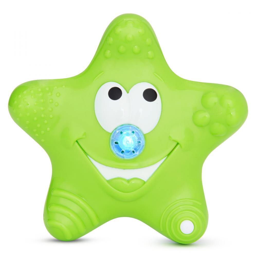 Munchkin игрушка для ванны Звездочка зеленая от 12мес