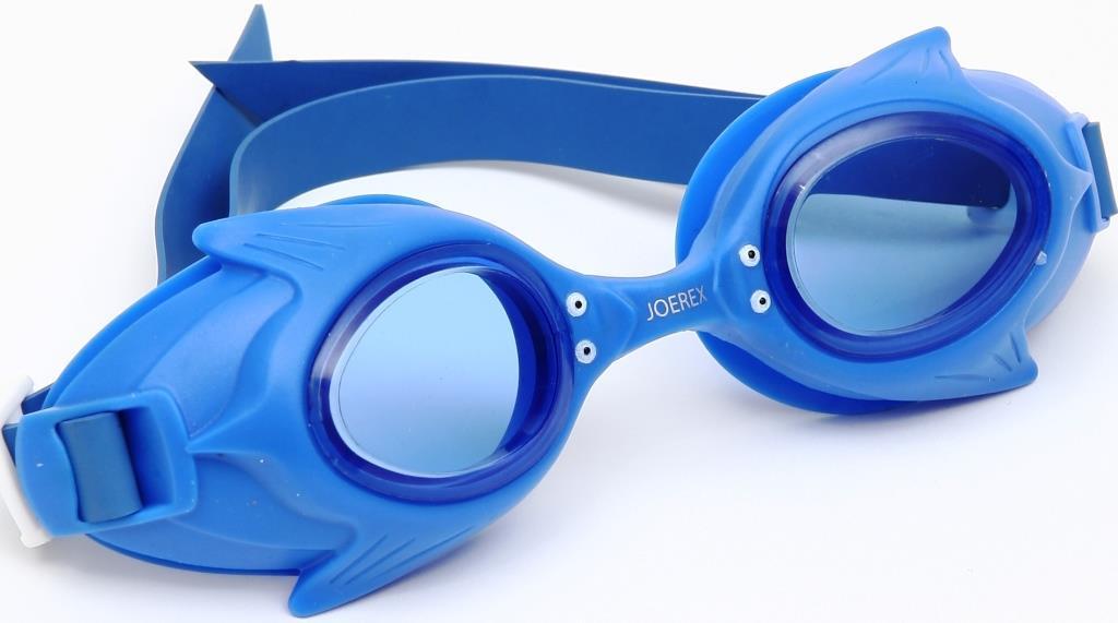 Очки для плавания детские JOEREX SSM1801-2, дизайн дельфин очки для плавания зеленые в футляре