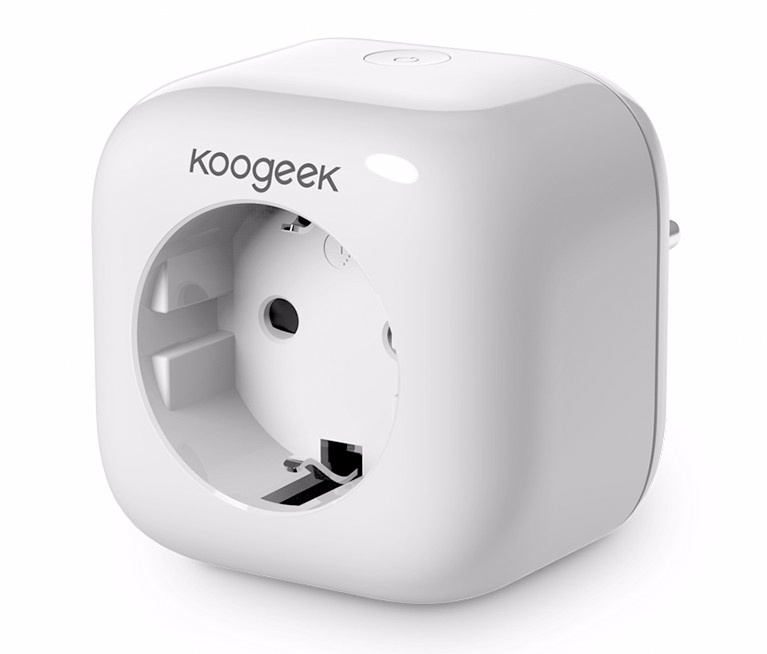 Умная wifi розетка Koogeek Smart Plug Apple HomeKit (P1EU-1) koogeek skyblue 2000ml