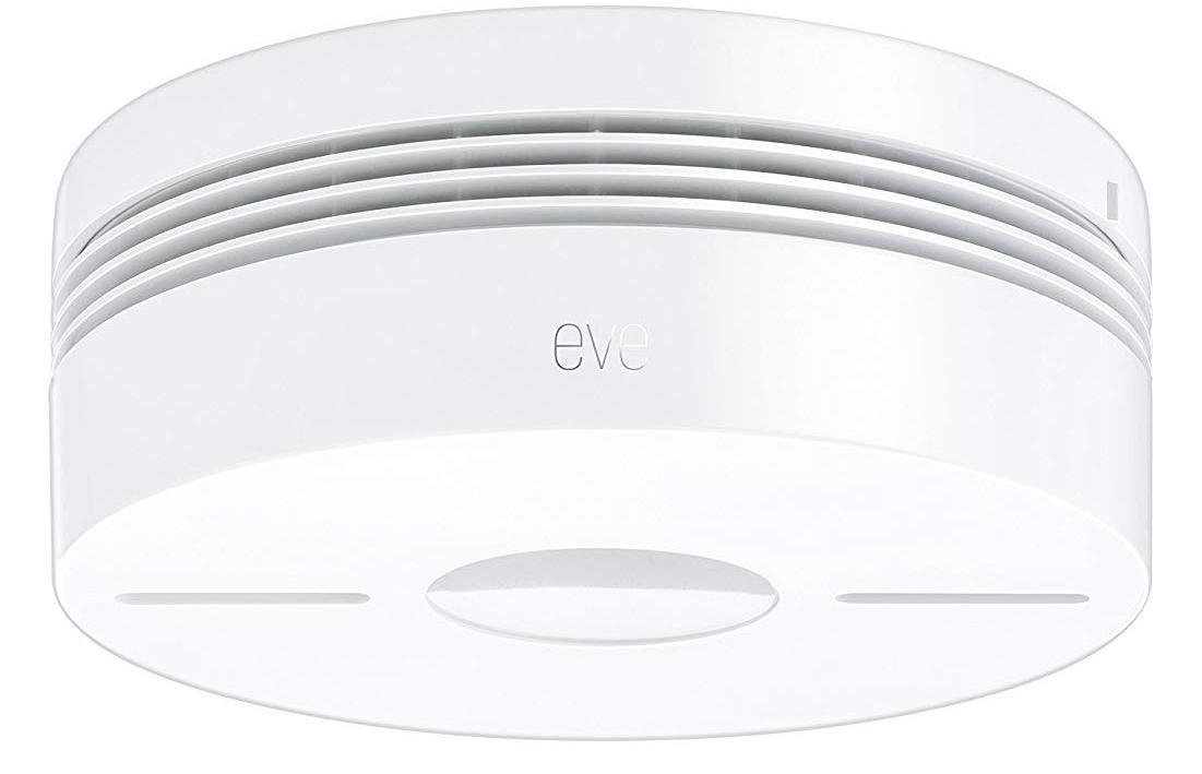 Умная пожарная сигнализация Elgato Eve Smoke with Apple HomeKit контроллер elgato eve motion 1em109901000