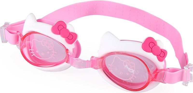 Очки для плавания детские HELLO KITTY HE1001-KC, розовые детский поильник hello kitty ktxg01 hellokitty