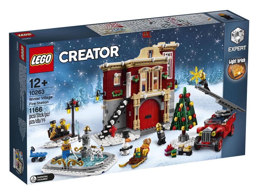 Зимняя деревня (Lego 10263)