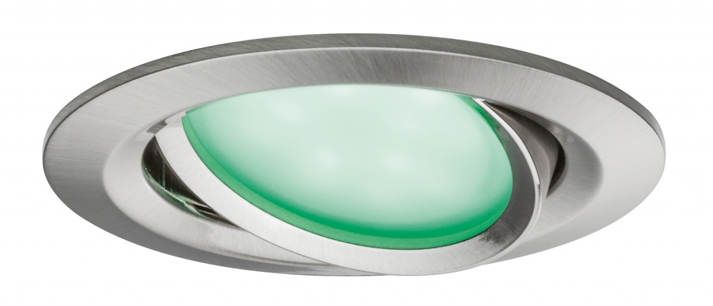цена на Встраиваемый светильник EBL SmartCoin BLE Set RGBW schwb. LED