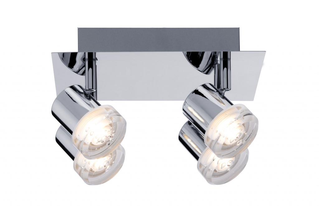 Потолочный светильник Bubbles LED 4x5W, хром