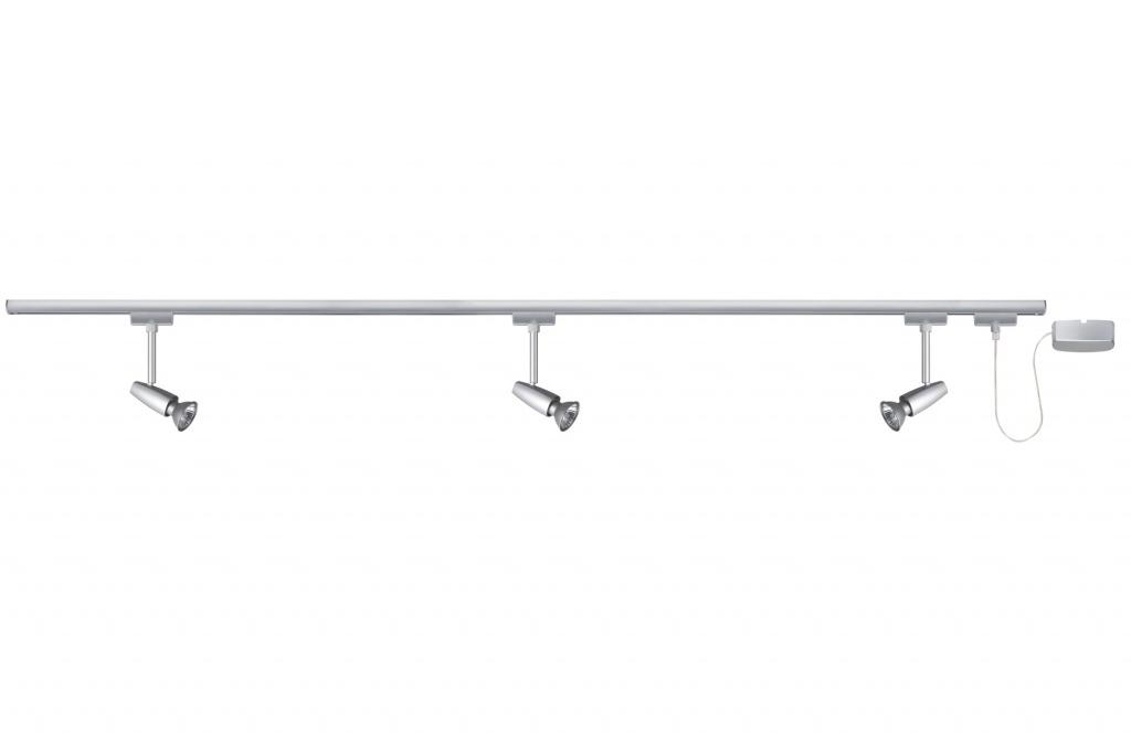 Потолочный светильник URail System Start-Set 3x50W, хром матовый