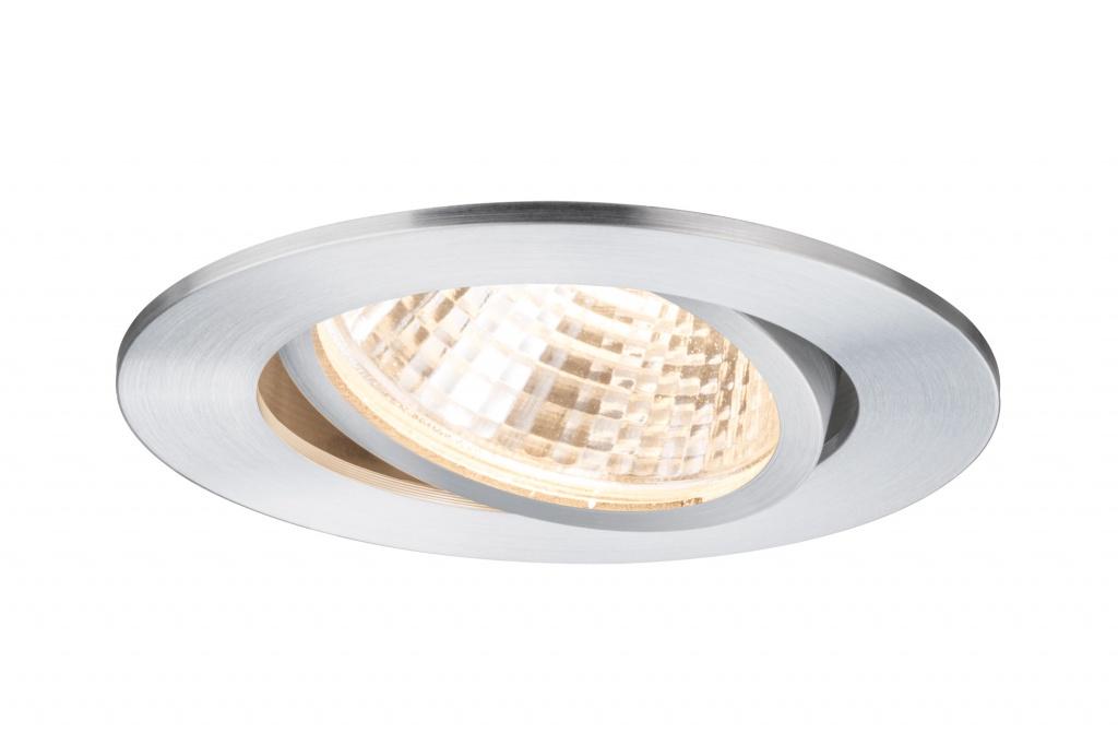 Встраиваемый светильник Prem.EBL Set schw LED1x13W 15VA Alu dril светильник donolux sa1541 sa1543 alu