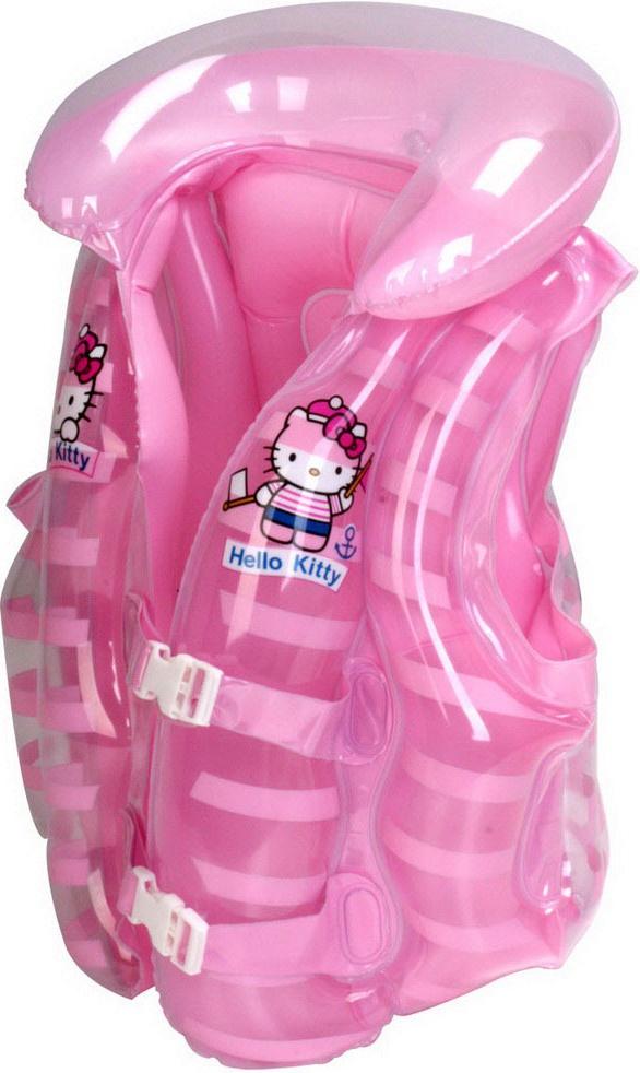 Жилет для плавания детский Hello Kitty HE2601-KC, 42х41см детский поильник hello kitty ktxg01 hellokitty