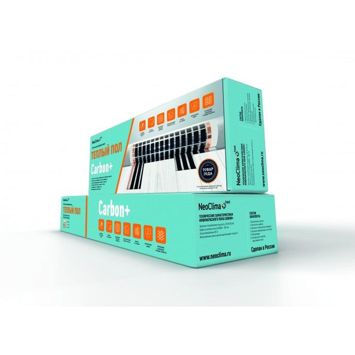 лучшая цена Комплект теплого пола Neoclima Carbon+ 230-0,5-3
