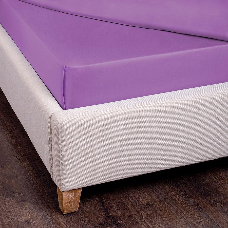 Простыня SANTALINO , 180 х 220 см 180x220 сиреневый простыня smart textile невесомость 180 х 220 см