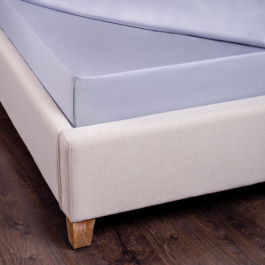 Простыня SANTALINO , 180 х 220 см 180x220 серый простыня smart textile невесомость 180 х 220 см