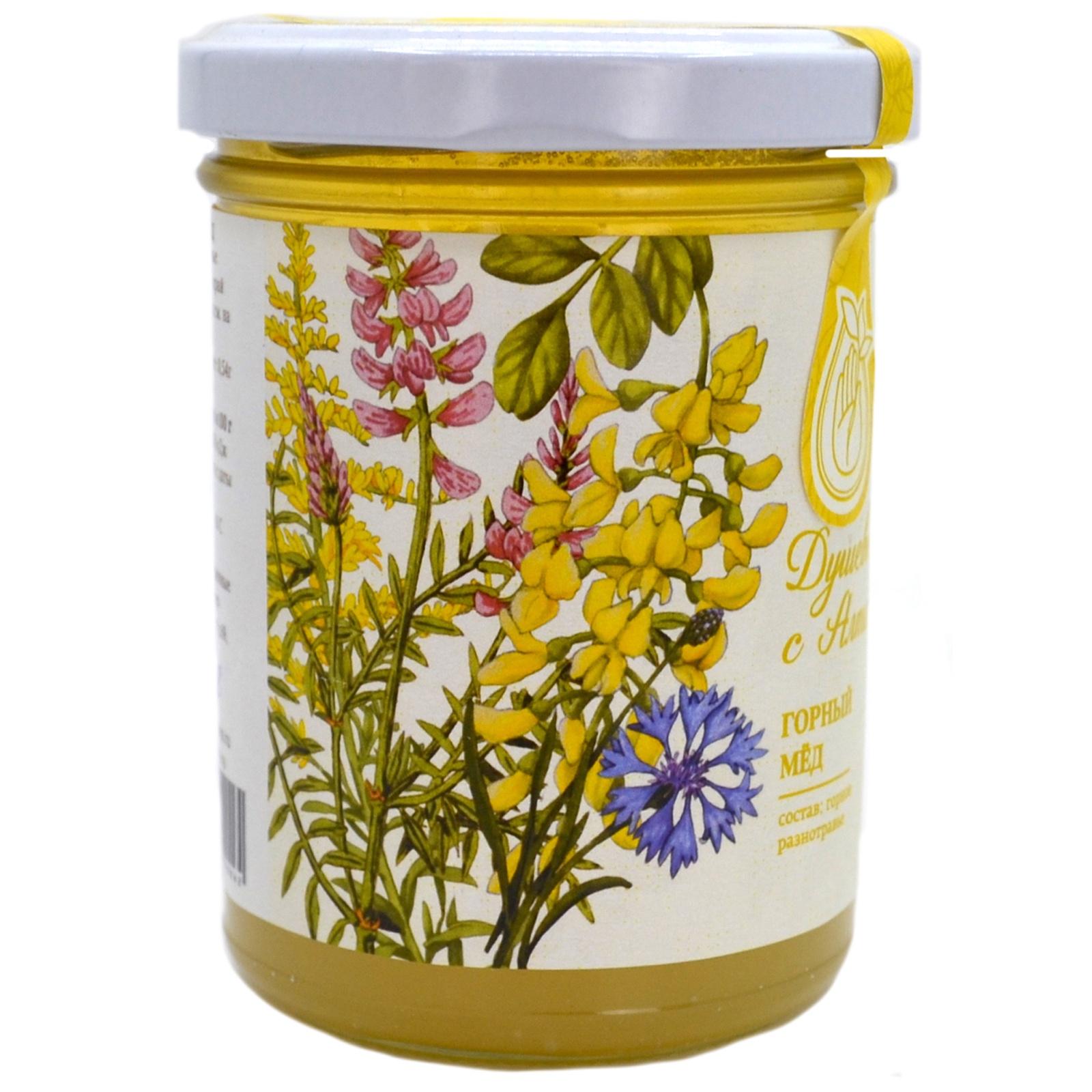 Горный мед, 270 г. берестов мед горный 500 г