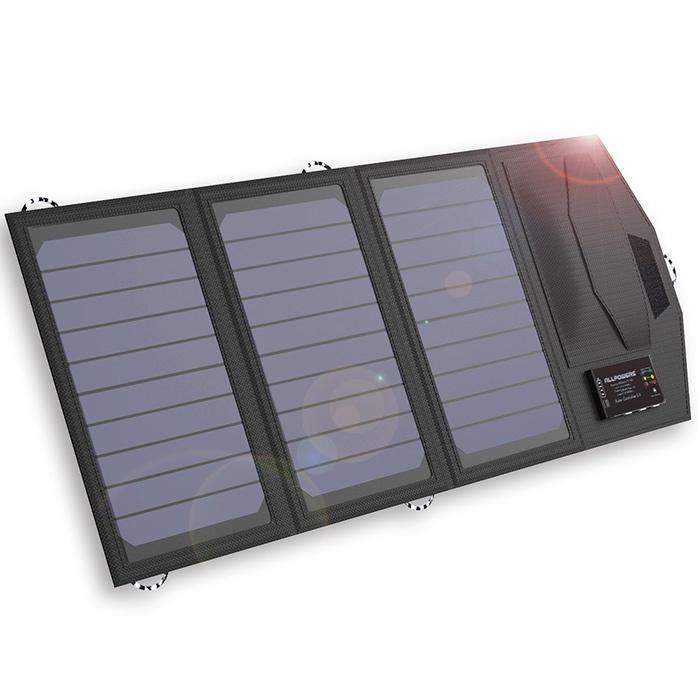 AllPowers Солнечная панель с внешним аккумулятором, 15W 6000 mAh, S6000