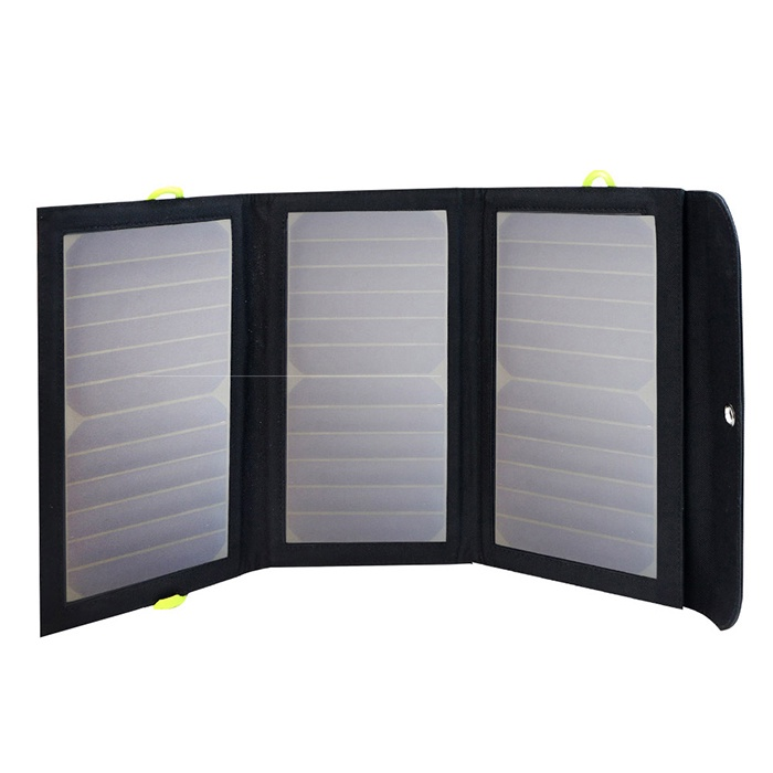 AllPowers Солнечная панель с внешним аккумулятором, 21W 6000 mAh, AP-SP002