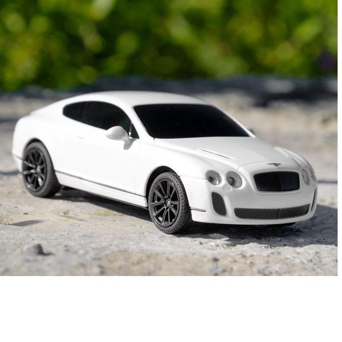 Машина радиоуправляемая Bentley Continental, масштаб 1:24, работает от батареек, свет rastar радиоуправляемая модель bentley continental gt3
