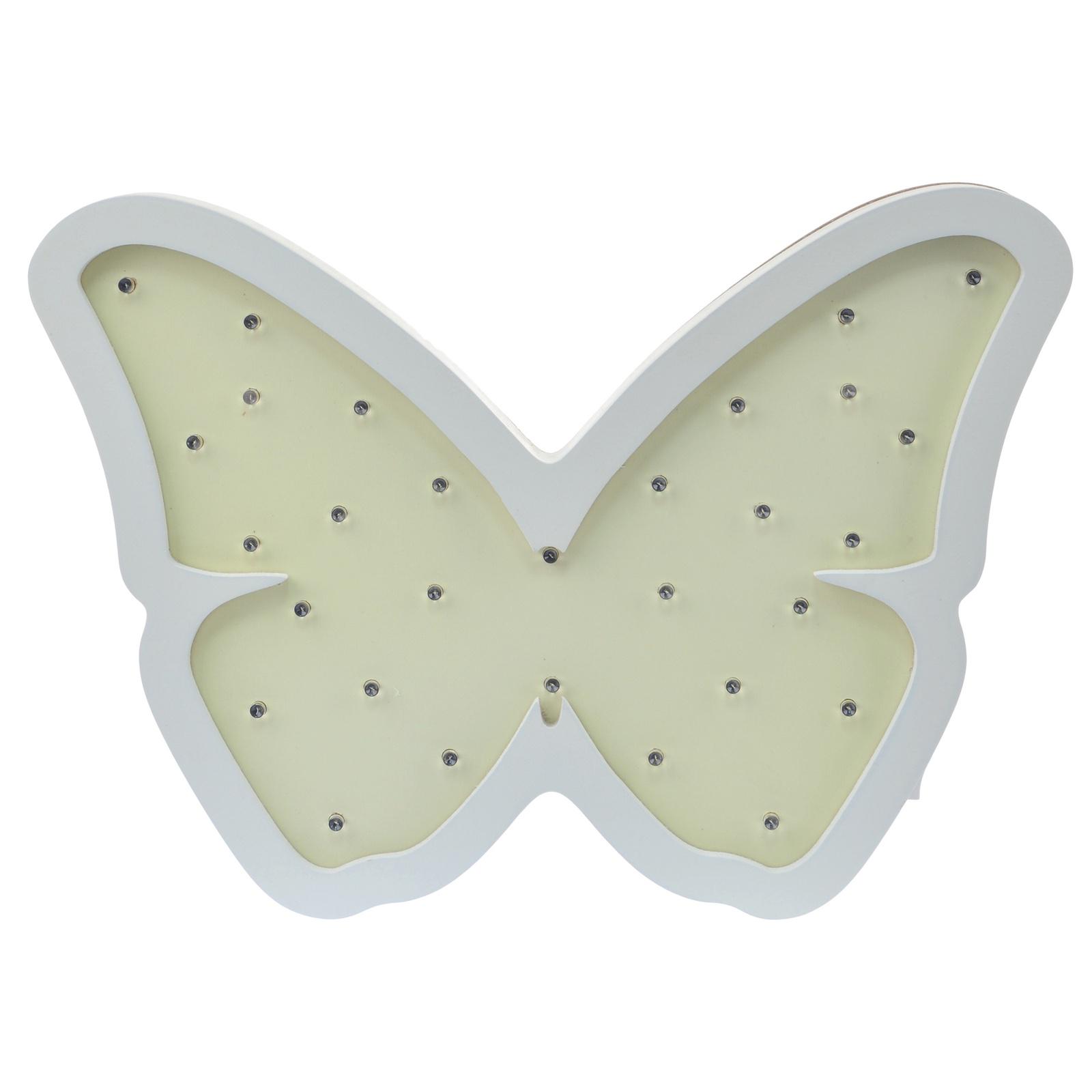 Ночник детский настенный Бабочка все цены