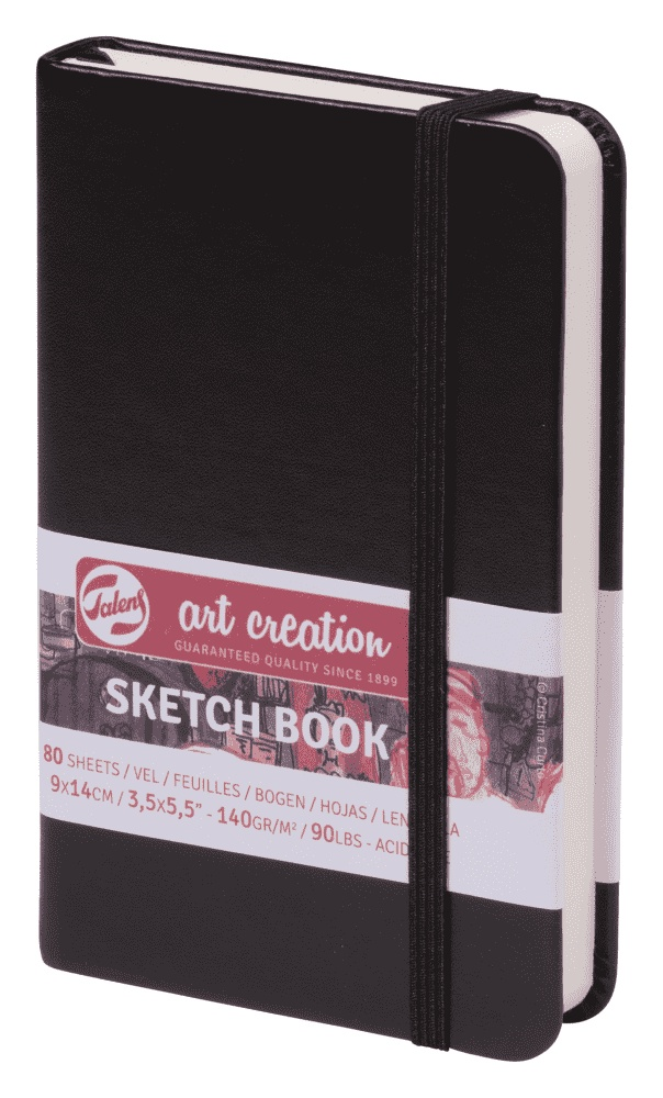 Royal Talens Блокнот для зарисовок Art Creation цвет черный 80 листов цены онлайн