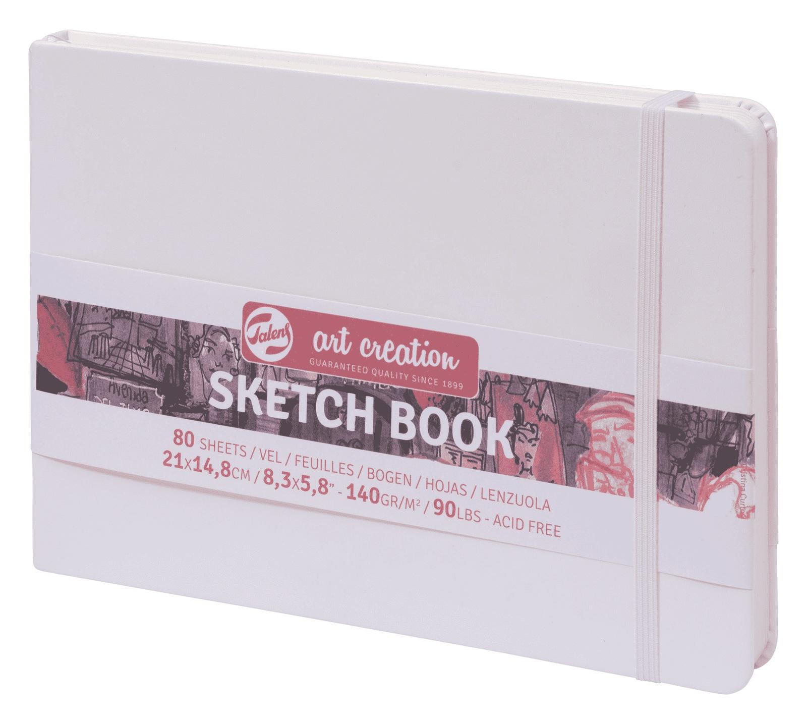 Royal Talens Блокнот для зарисовок Art Creation цвет белый 80 листов 9314105M цены онлайн