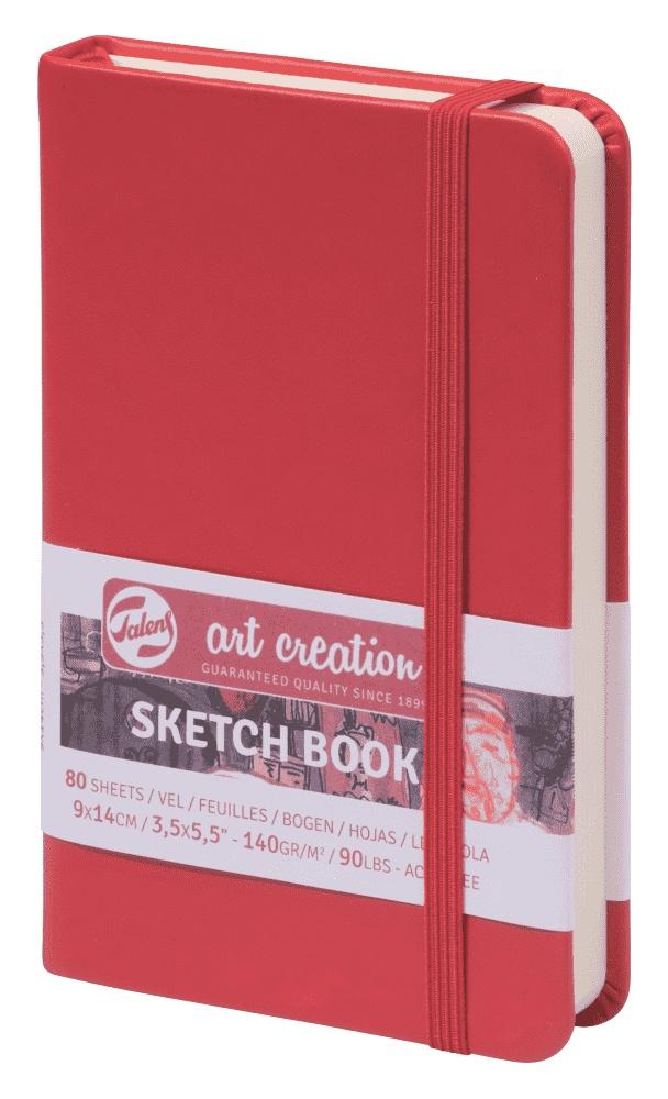 Royal Talens Блокнот для зарисовок Art Creation цвет красный 80 листов 9314201M цены онлайн