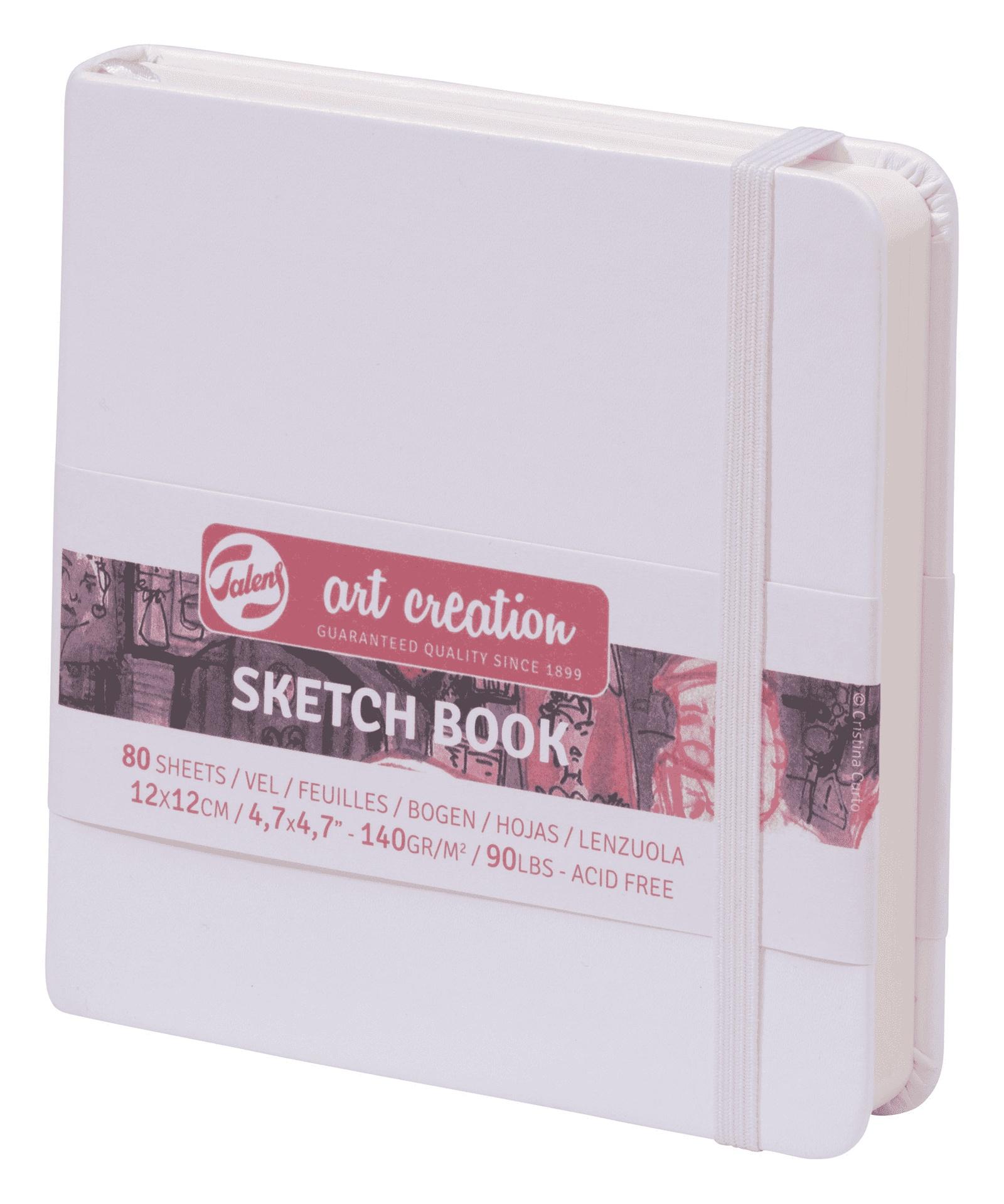 Royal Talens Блокнот для зарисовок Art Creation цвет белый 80 листов 9314104M цены онлайн