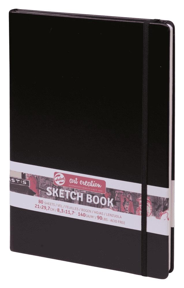 Royal Talens Блокнот для зарисовок Art Creation цвет черный 80 листов 9314003M цены онлайн