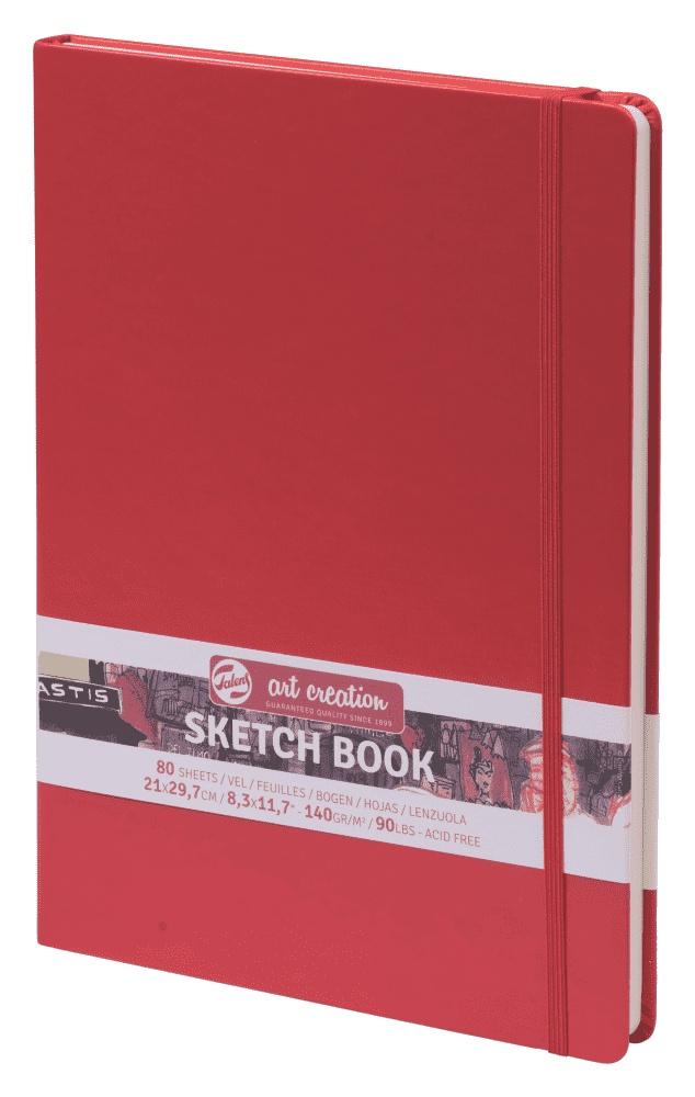 Royal Talens Блокнот для зарисовок Art Creation цвет красный 80 листов 9314203M цены онлайн