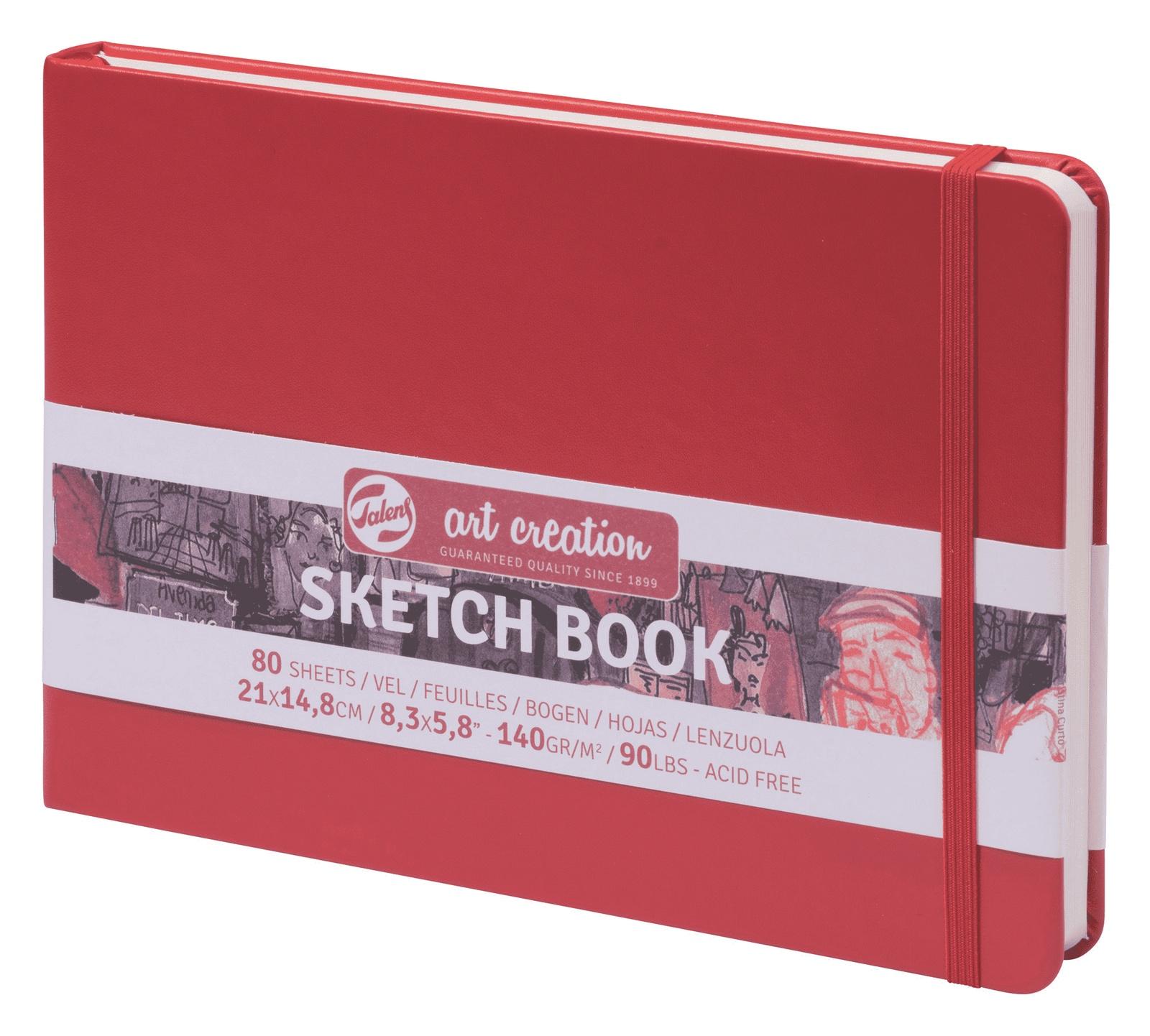 Royal Talens Блокнот для зарисовок Art Creation цвет красный 80 листов 9314205M цены онлайн
