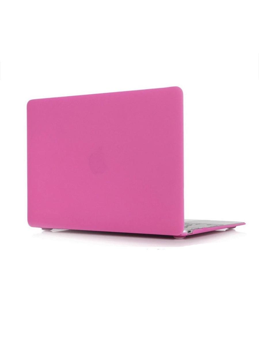 Чехол/накладка для MacBook 12 Retina. Малиновый