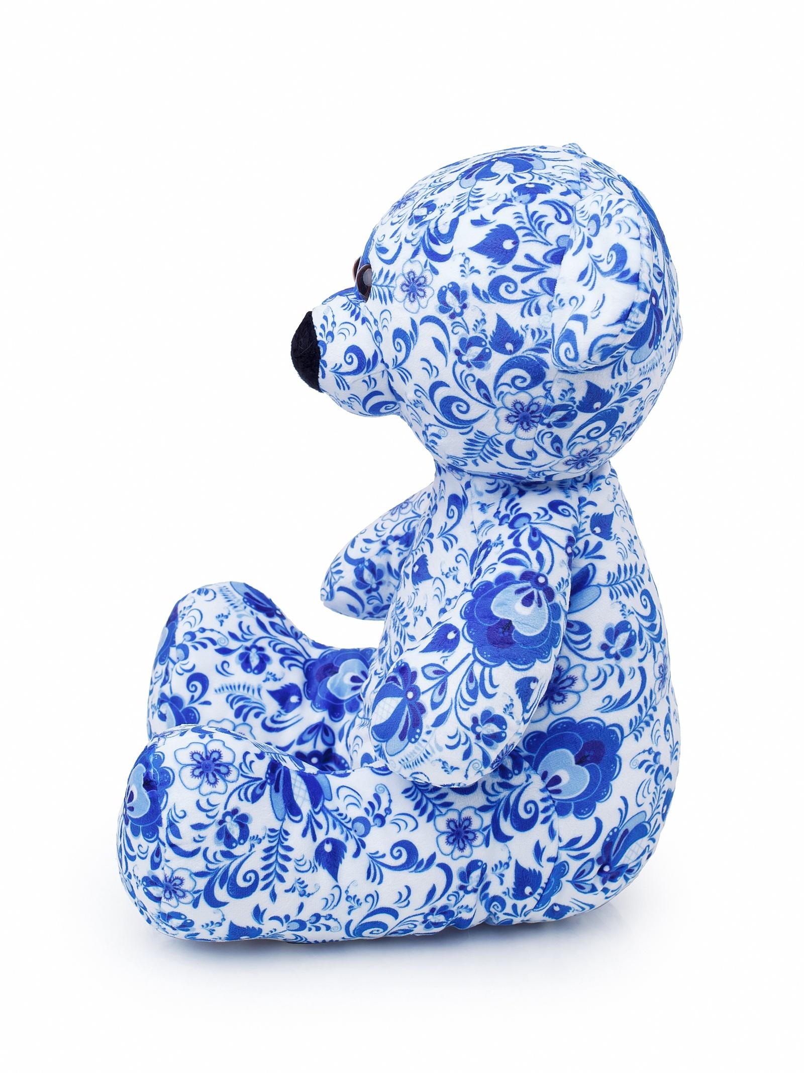 Мягкая Игрушка Медвежонок Сёмка, 35см смолтойс мягкая игрушка медвежонок монти 100 см