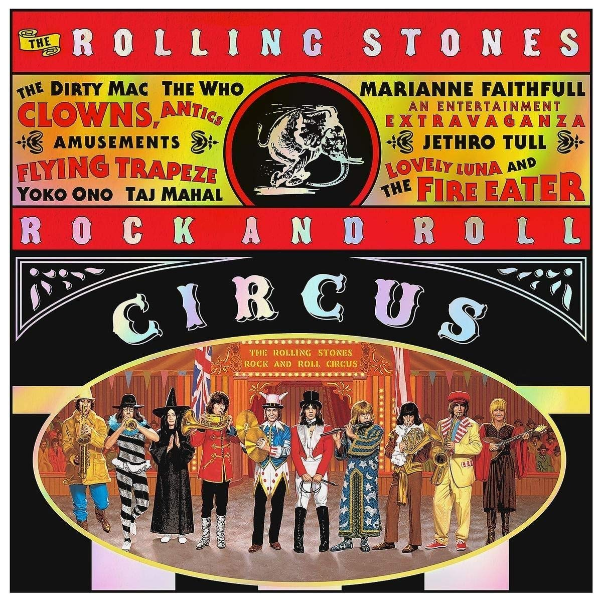 The Rolling Stones The Rolling Stones. Rock And Roll Circus. Deluxe (2 CD) barefoot over stones