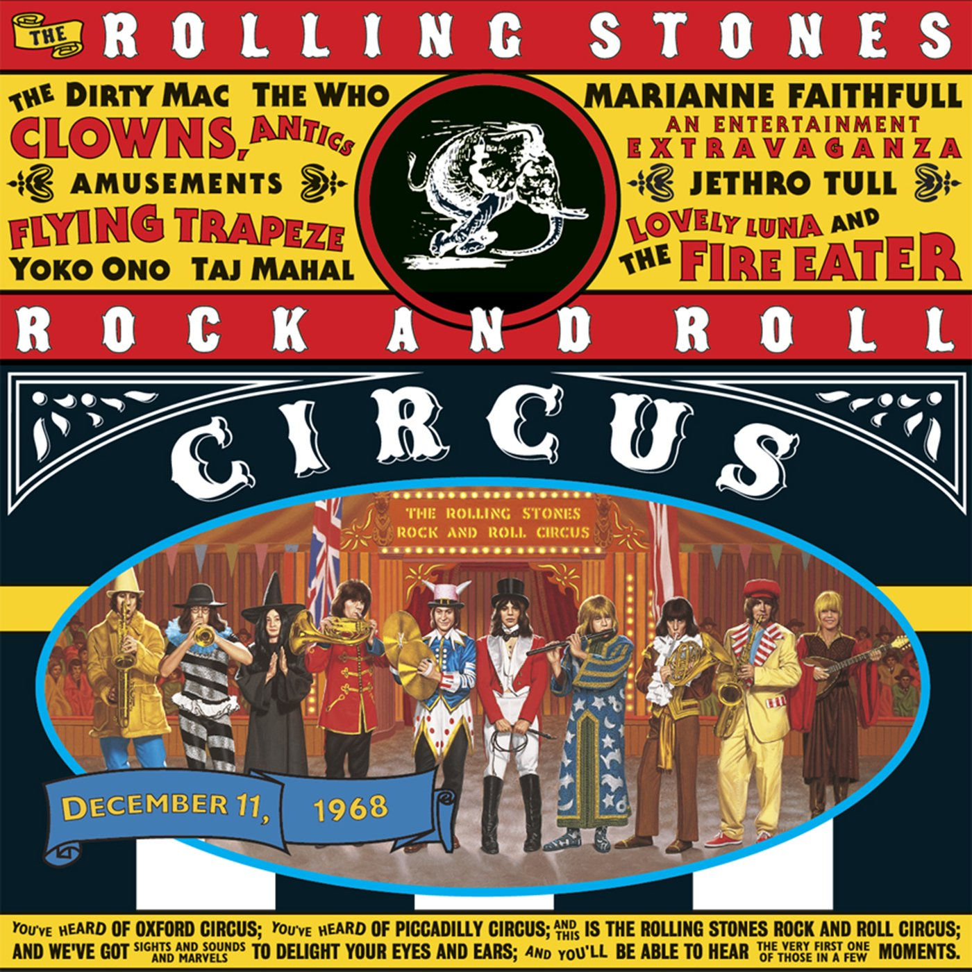 The Rolling Stones The Rolling Stones. Rock And Roll Circus (3 LP) barefoot over stones