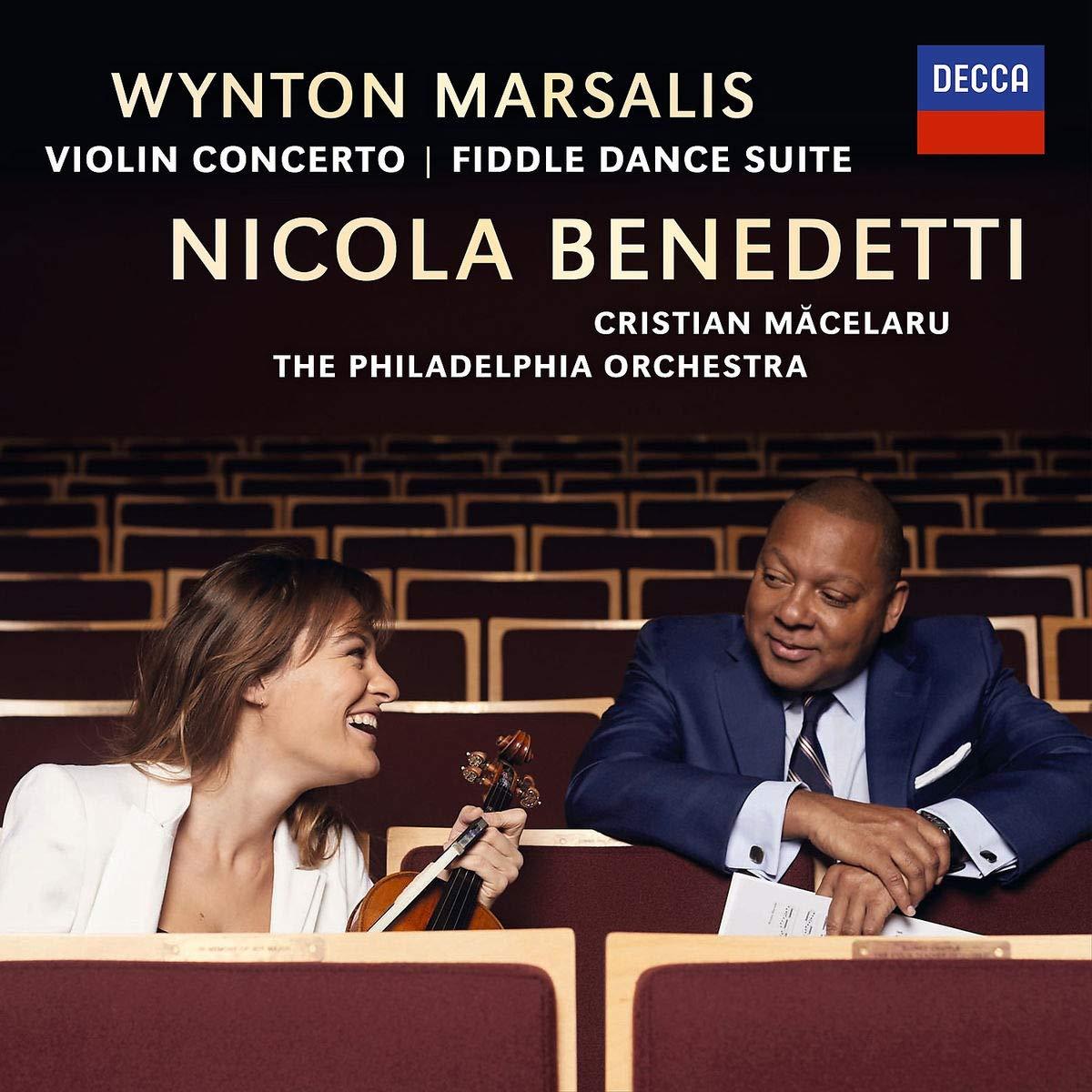 Никола Бенедетти,Уинтон Марсалис Nicola Benedetti. Marsalis: Violin Concerto / Fiddle Dance Suite m dubourg violin concerto in d major