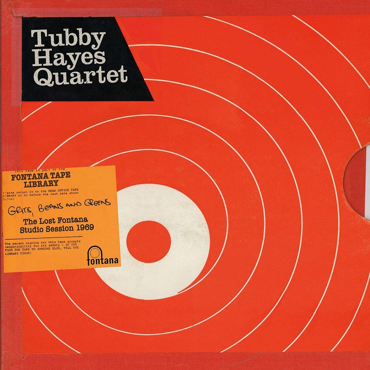 цены Табби Хауес Tubby Hayes. Grits, Beans And Greens: The Lost Fontana Studio Session 1969