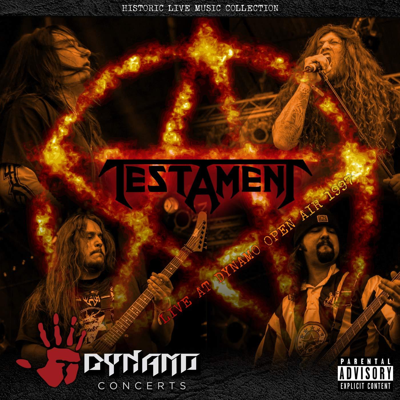 Testament Testament. Live At Dynamo Open Air 1997 testament testament low