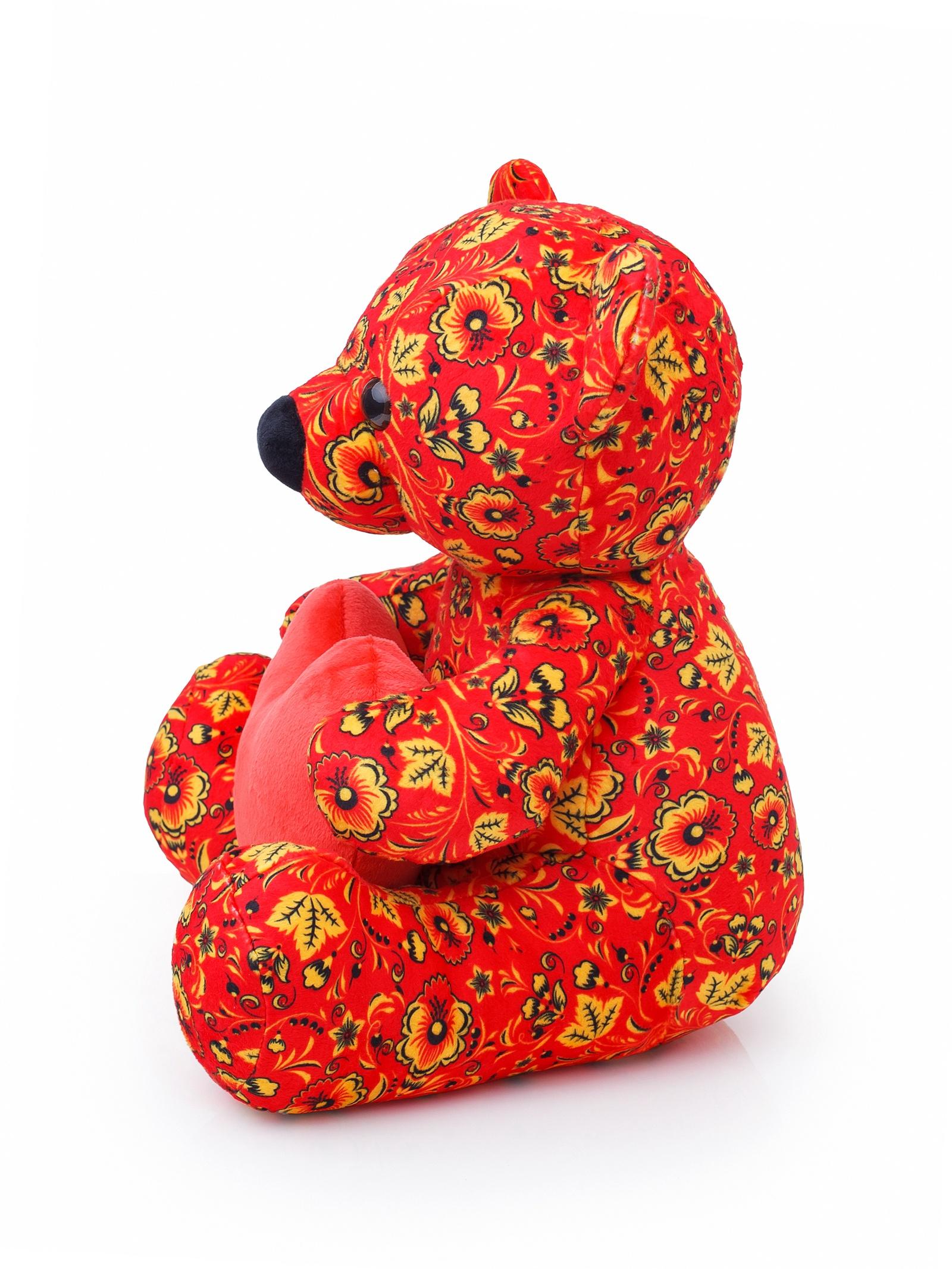 Мягкая Игрушка Медвежонок Сёмк, 35см смолтойс мягкая игрушка медвежонок монти 100 см