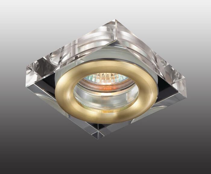 Встраиваемый светильник Novotech 369882, GX5.3, 50 Вт встраиваемый светильник novotech aqua 369882