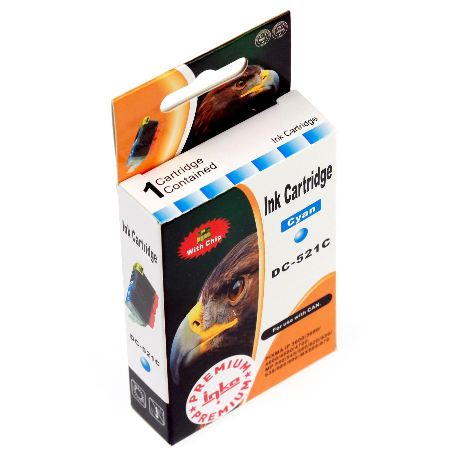 Картридж Inko для CLI-521C Голубой цены