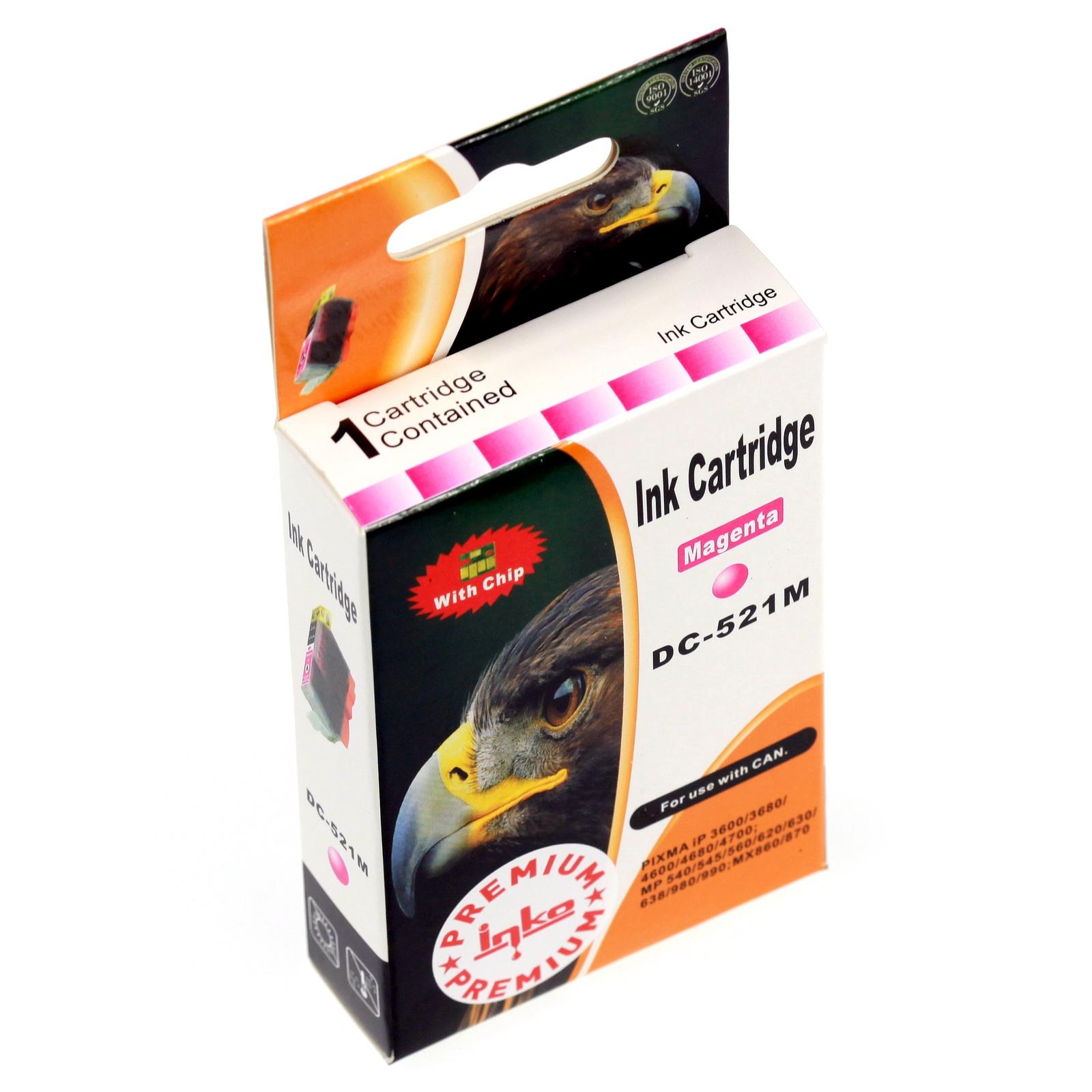 Картридж Inko для CLI-521M Пурпурный цены