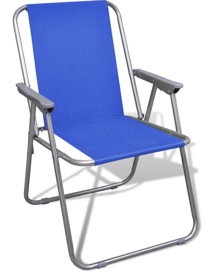 Reka Кресло складное с подлокотниками CK-305 , синий woodland складное 48x48x72 ck 036 b