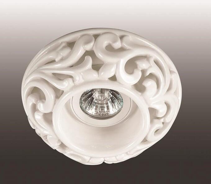 Встраиваемый светильник 370193, GX5.3, 50 Вт novotech встраиваемый светильник novotech ola 370193