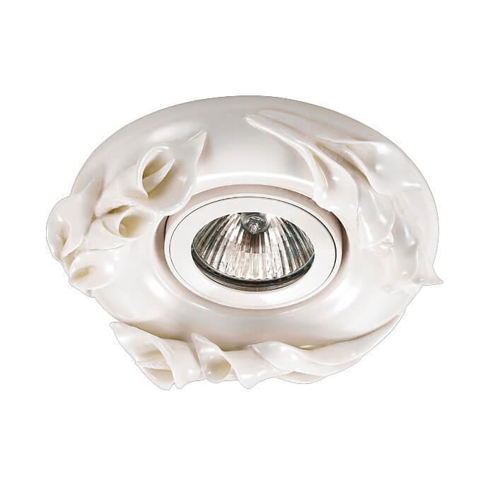 Встраиваемый светильник Novotech 370037, GX5.3, 50 Вт