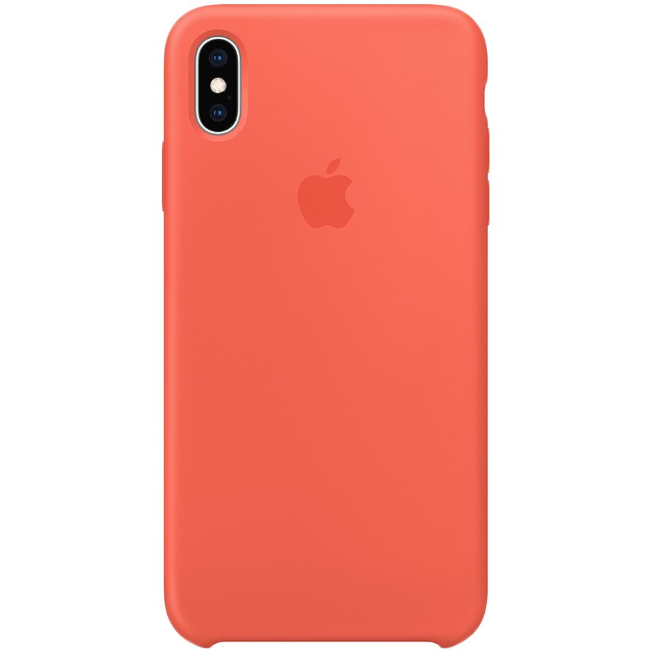 Чехол для Apple iPhone XS Max Silicone Case Nectarine чехол для apple iphone xs max silicone case nectarine