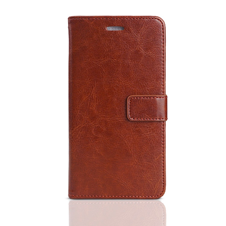 Чехол-книжка MyPads для Huawei Honor 10 Lite / Huawei P Smart (2019) с мульти-подставкой застёжкой и визитницей коричневый