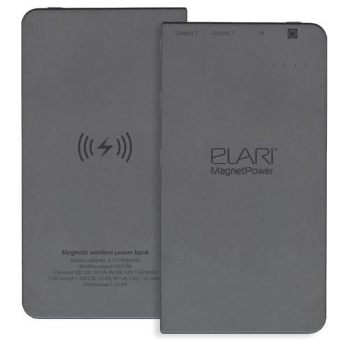 Беспроводное зарядное устройство Elari MagnetPower 7800 мАч, черный все цены