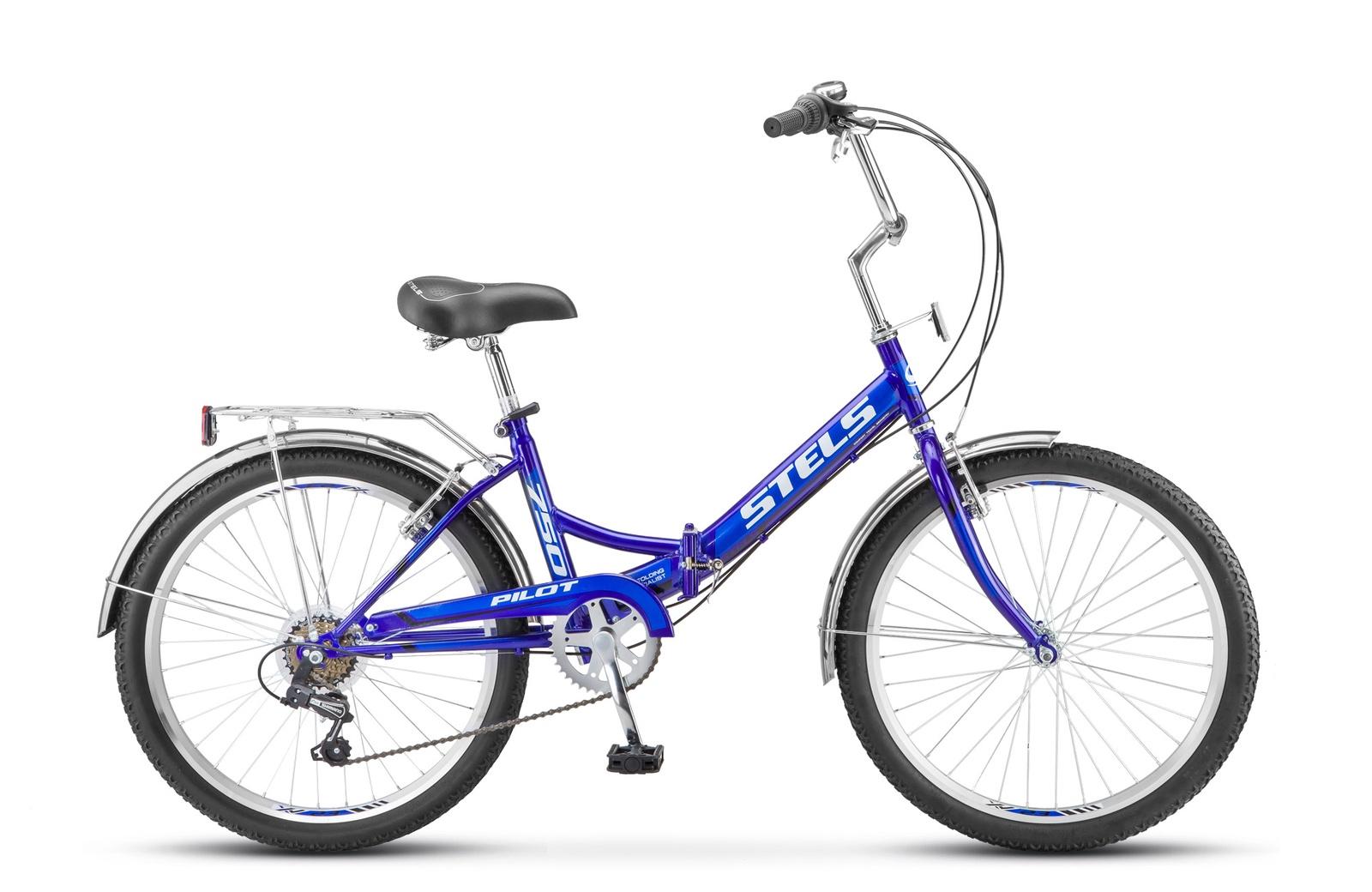 Фото - Велосипед 24 STELS Pilot-750 (16 Синий ) stels pilot 750 24 16