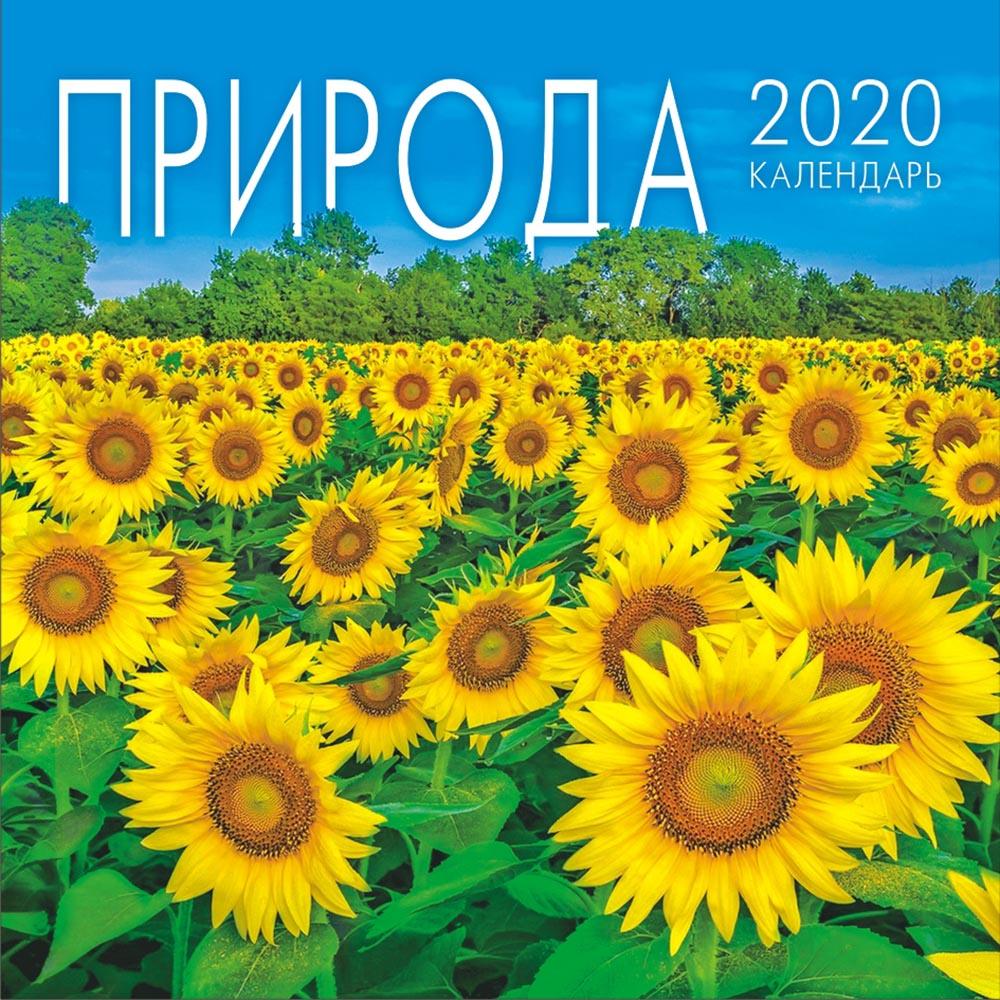Календарь перекидной малый на скрепке на 2020 год, Природа, 155х160мм МПК-20-011 календарь перекидной малый на скрепке на 2020 год иконы 155х160мм мпк 20 007