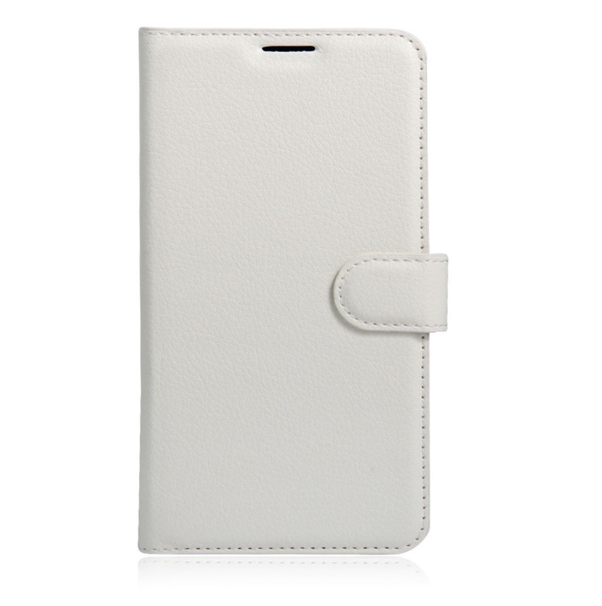 Чехол-книжка MyPads для HTC Desire 700 Dual Sim с мульти-подставкой застёжкой и визитницей белый
