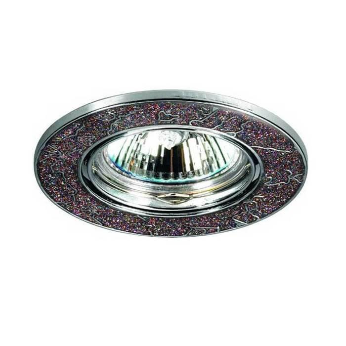 Встраиваемый светильник Novotech 369284, GX5.3, 50 Вт светильник novotech stone nv 369284