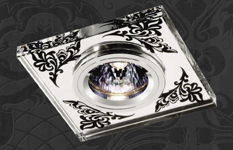 Встраиваемый светильник Novotech 369544, GX5.3, 50 Вт