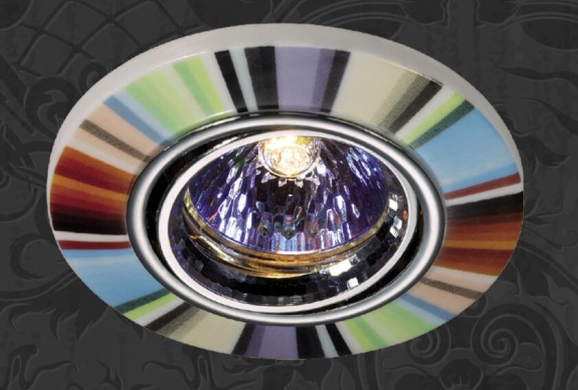 Встраиваемый светильник Novotech 369552, GX5.3, 50 Вт