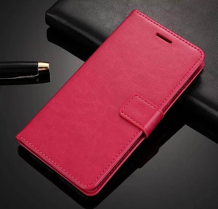 Чехол-книжка MyPads для Huawei Nova 3 с мульти-подставкой застёжкой и визитницей розовый